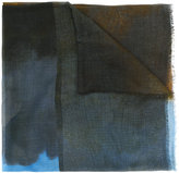 Stella McCartney Running Horse print scarf