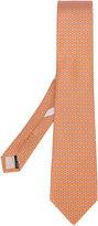 Salvatore Ferragamo chain detail tie - men - Silk - One Size