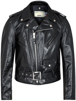 Schott NYC 618 Perfecto Black Leather Biker Jacket