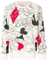 Vivienne Westwood house of cards print sweatshirt
