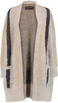 By Malene Birger Textured intarsia-knit cardigan