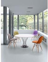 ZUO Probability Velour Wood Chair in Gray