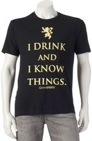 Men's I Drink And I Know Things Tee