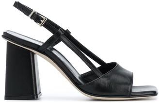 Paul Warmer 95mm Slingback Square Toe Sandals