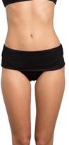 RVCA Women's Coast Side Medium Foldover Bikini Bottoms