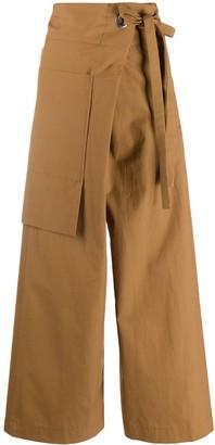 Side-Tie Trousers