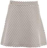 Garcia Jeans Short Diamond Print Skirt