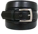 Yours Clothing D555 Black Plain Square Buckle Belt