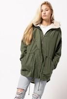 Azalea Parka Detachable Hoodie Jacket