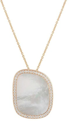 Roberto Coin 18kt Rose Gold And Diamond Necklace