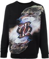 Marcelo Burlon County of Milan 'Tobias' sweatshirt - men - Cotton/Polyester - L