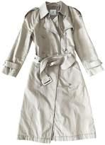Anine Bing Beige Trench Coat for Women
