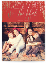 Minted Gilded Thanks Thanksgiving Cards