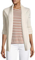Vince Cashmere Wide-Collar Cardigan Sweater