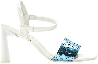 Amélie Pichard White Leather Sandals
