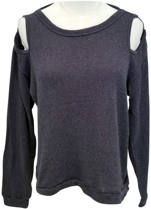 LnA Grey Cotton Top for Women