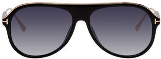 Tom Ford Black Nicholai Sunglasses