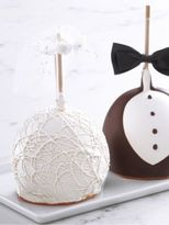 Mrs. Prindables Mrs. Prindable's Bride and Groom Jumbo Apple- Set of Two