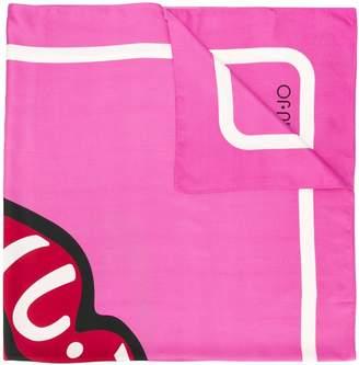 Liu Jo lip print scarf