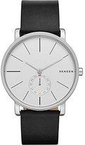 Skagen Men's SKW6274 Hagen Black Leather Watch