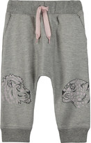 Kenzo Tiger print cotton tracksuit bottoms 6-36 months