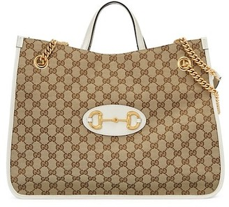 Gucci 1955 Horsebit Large Tote Bag