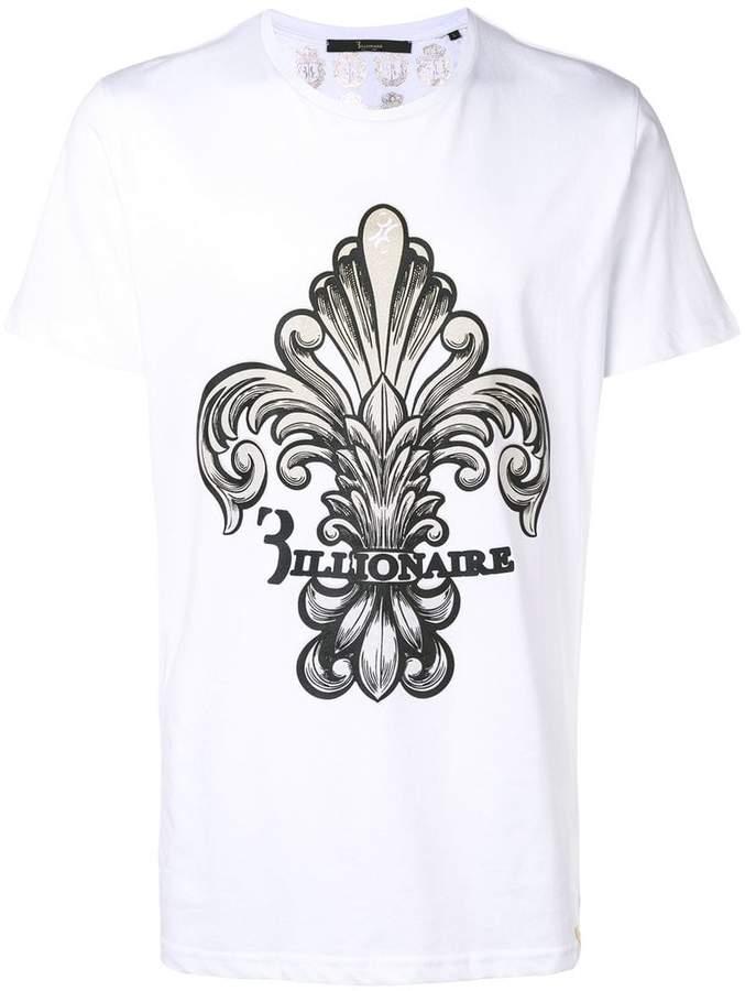 Billionaire 'Mannie' printed T-shirt