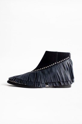 Zadig & Voltaire Mods Franges Ankle Boots