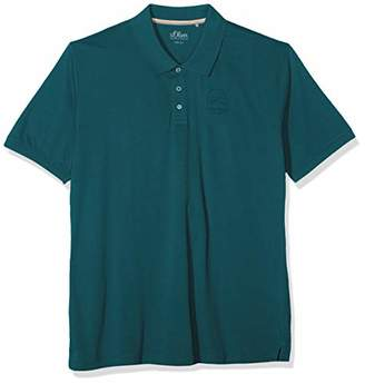 S'Oliver Big Size Men's 15.907.35.6564 Polo Shirt, Synthetic Red 3110, XXX-Large