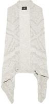 Line Flint Asymmetric Cotton And Linen-Blend Vest