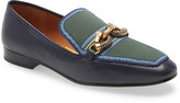 Tory Burch Jessa Horse Hardware Loafer
