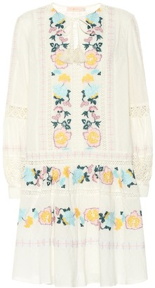 Tory Burch Boho embroidered cotton dress