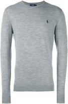 Polo Ralph Lauren logo sweater - men - Wool/Polyester - XXL
