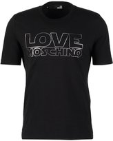 Love Moschino Print Tshirt Black