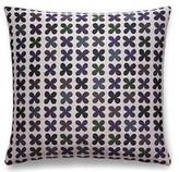 Maharam Quatrefoil Emerald Pillow