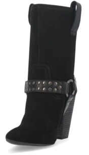 Dingo Women's Dancin Queen Leather Bootie Women's Shoes