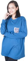 Lofbaz Women's T-shirt With Front Pocket Sleeve M