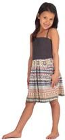 Vintage Havana Kids Color Block Printed Tube Dress