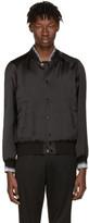 Saint Laurent Black Moonlight Teddy Bomber Jacket