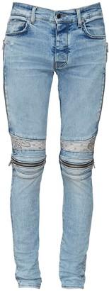 Amiri 15cm Mx2 Bandana Cotton Denim Jeans