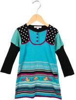 Kenzo Girls' Printed Sweater Dress