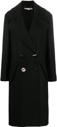 Stella McCartney Oversized Double-Breasted Coat