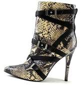 GUESS Womens Parley Pointed Toe Ankle Fashion Boots.