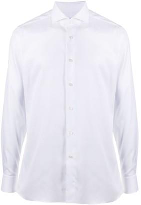 Xacus Button-Up Cotton Shirt