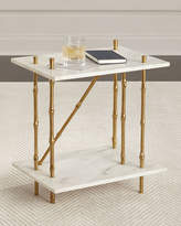 Ambella Bruner Marble Side Table