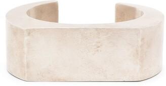 Parts of Four Crescent Plane bracelet