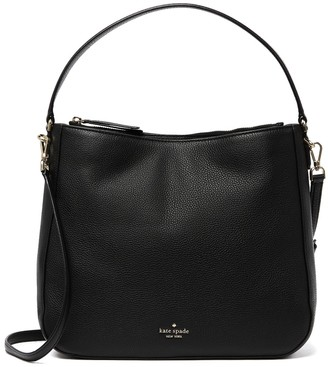 Kate Spade Jackson Double Compartment Leather Shoulder Bag