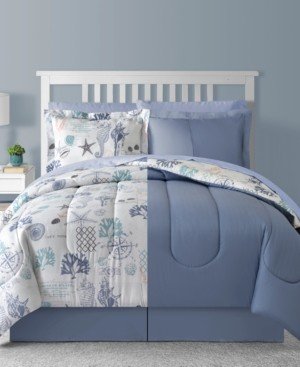 Sunham Fairfield Square Bluffton 8Pc Full Comforter Set Bedding