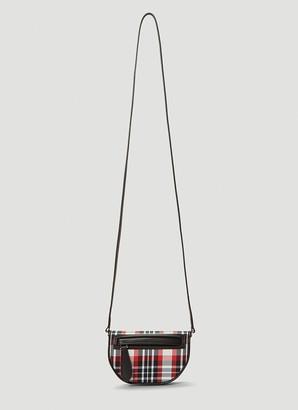 Burberry Tartan Crossbody Bag