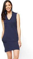 New York & Co. Sleeveless Hoodie Dress